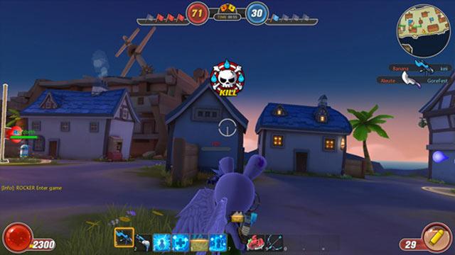Với hệ thống 4 nhân vật game avatar star luôn mang lại kịch tính cho người chơi