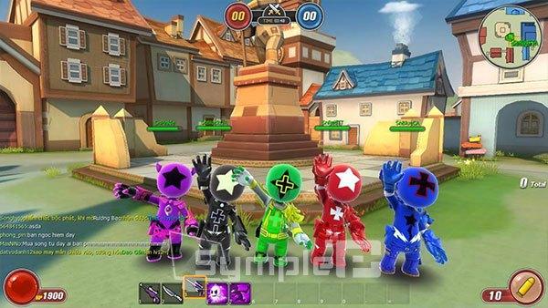 Có 4 chế độ chơi chủ yếu trong game Avatar Star