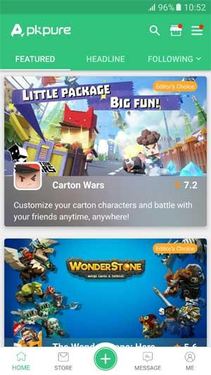 Tự do tải các game không khả dụng ở quốc gia bạn với APKPure App for Android