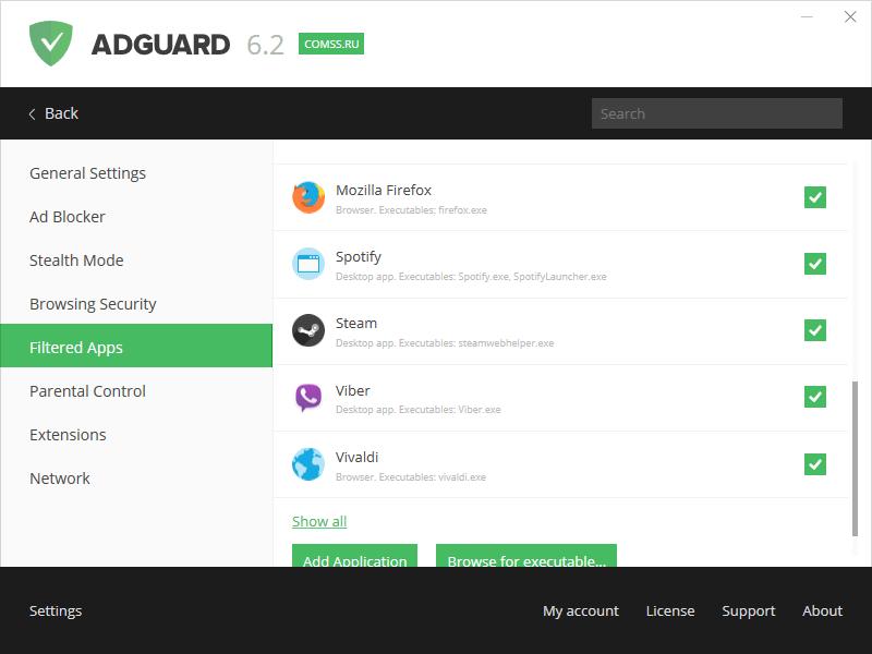 Ứng dụng AdGuard for Android sẽ không để quảng cáo làm phiền bạn mỗi khi lướt web