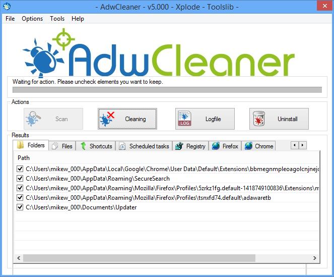 AdwCleaner cập nhập nhiều phiên bản để ngày càng hoàn hảo hơn
