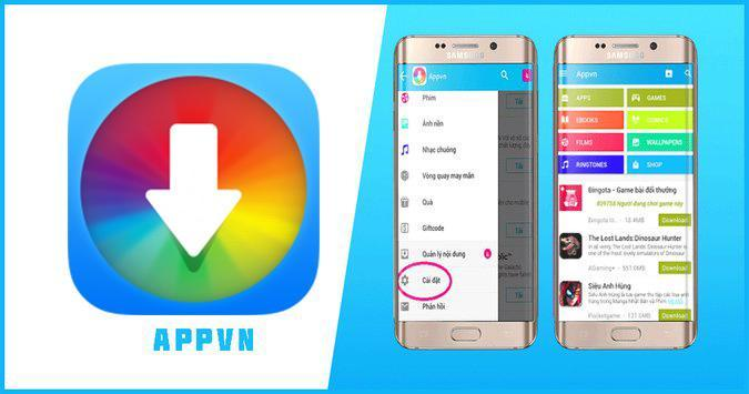 Download phần mềm Appvn về android để trải nghiệm các trò chơi cực hot nhé