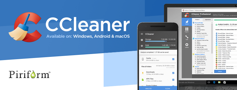 Hỗ trợ gỡ bỏ ứng dụng, game ngay trong CCleaner.
