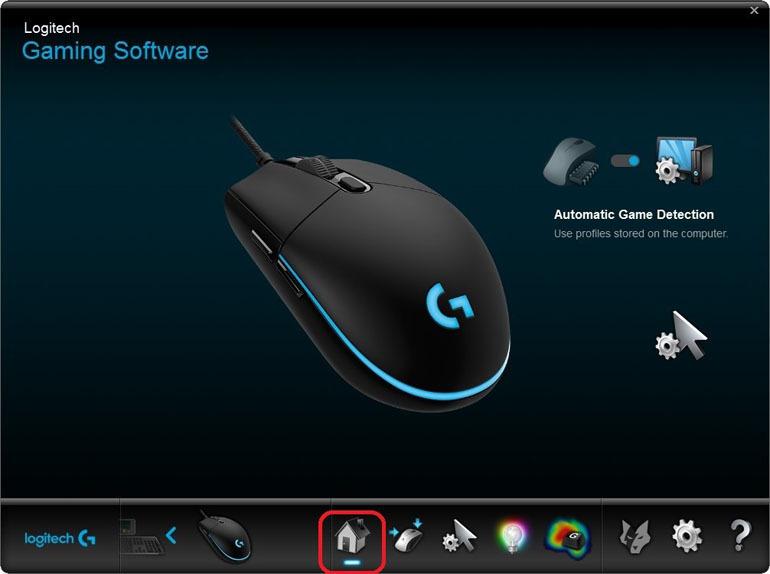 Thường xuyên cập nhập Logitech Gaming Software để hỗ trợ các tính năng chơi game tốt hơn