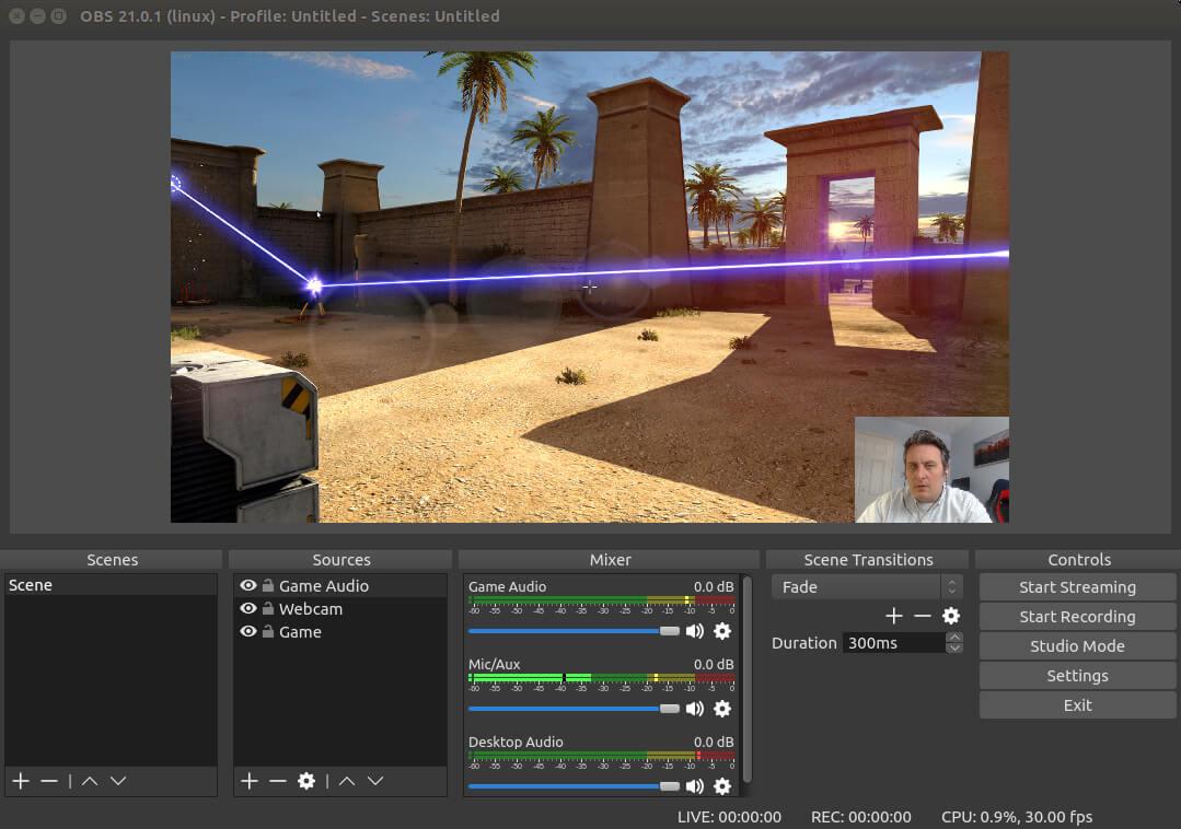 Phần mềm obs studio giúp bạn live stream với tốc độ cao, hình ảnh rõ nét