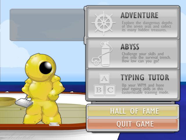 Vừa học vừa chơi với game Typer Shark Deluxe