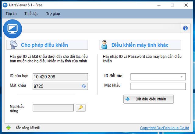 Điều khiển máy tính từ xa cực dễ dàng với UltraView 6.2