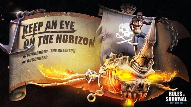 Những hoạt động chiêu mộ chiến binh trong game Rules Of Survival