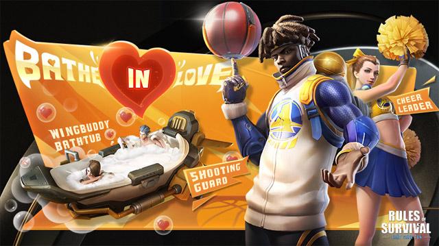 Bản Update Rules of Survival 11/3 ra mắt hoạt động Valentine trắng