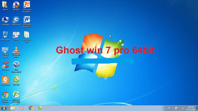 Ghost win 7 dễ dàng sử dụng cho mọi máy tính có hệ điều hành khác nhau