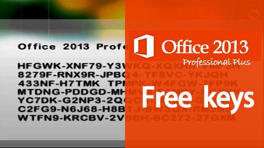 Sử dụng key office 2013 để kích hoạt bản quyền