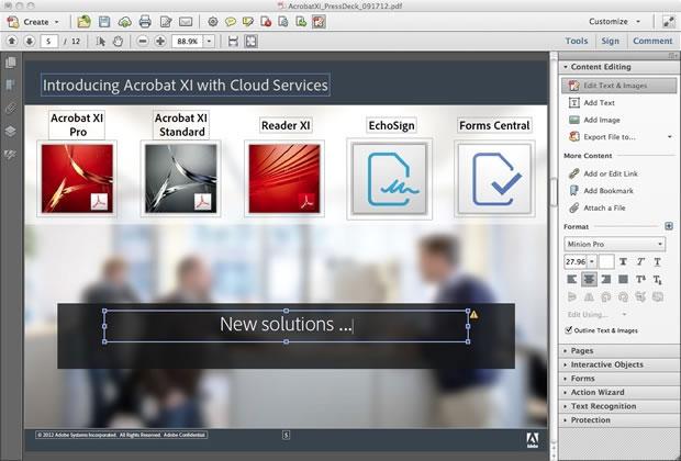 Phần mềm adobe reader giúp chia sẻ file PDF trực tuyến