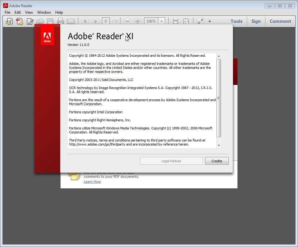 Phần mềm adobe reader có tính bảo mật cao
