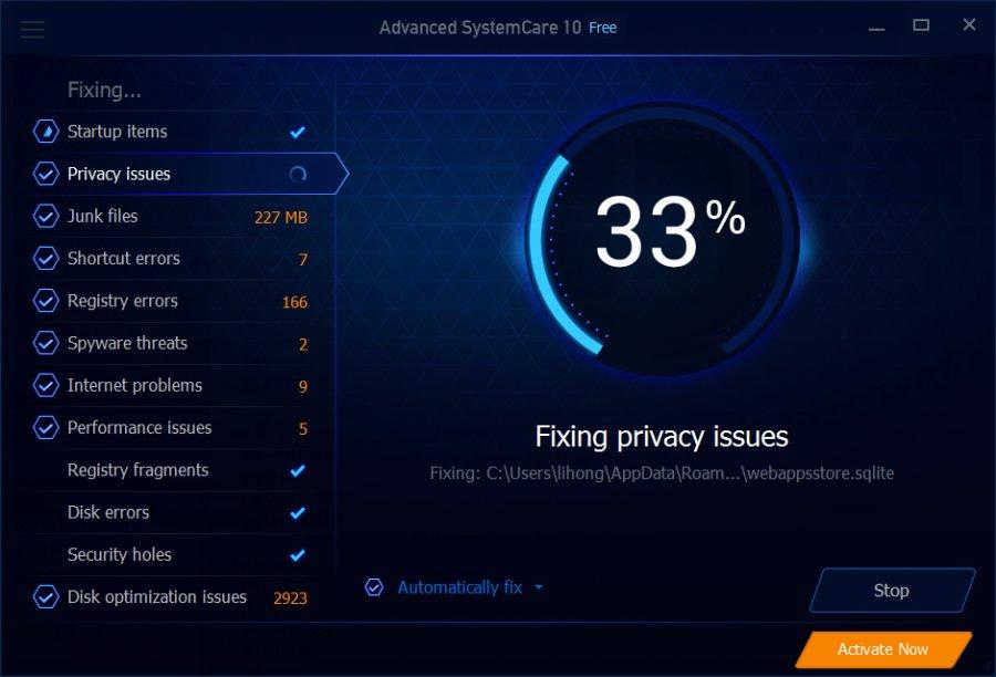 Download Advanced SystemCare Free - Tối ưu, tăng tốc máy tính