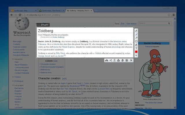 Phần mềm Lightshot hỗ trợ người dùng trong nhiều thao tác chụp ảnh màn hình