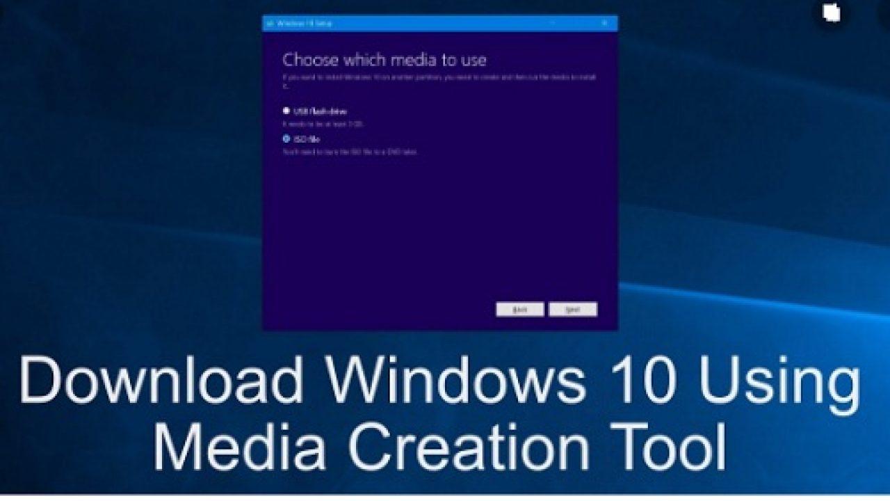 Tải Media Creation Tool - Phần mềm Nâng cấp, tạo bộ cài Windows 10