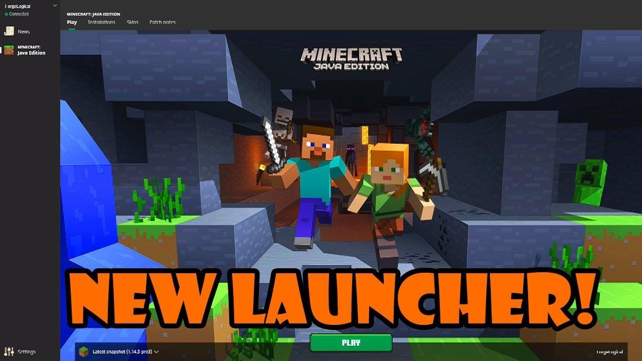 Minecraft launcher hỗ trợ download các gói dữ liệu game