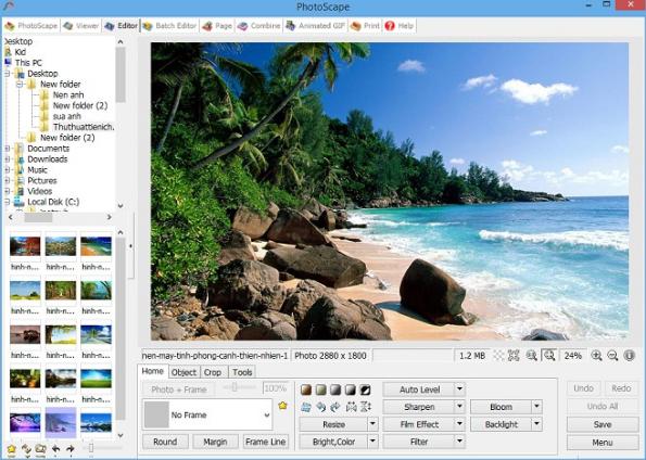 Download PhotoScape - Chỉnh sửa ảnh miễn phí