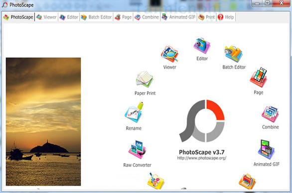 Tải PhotoScape cho máy tính, ứng dụng chỉnh sửa ảnh miễn phí