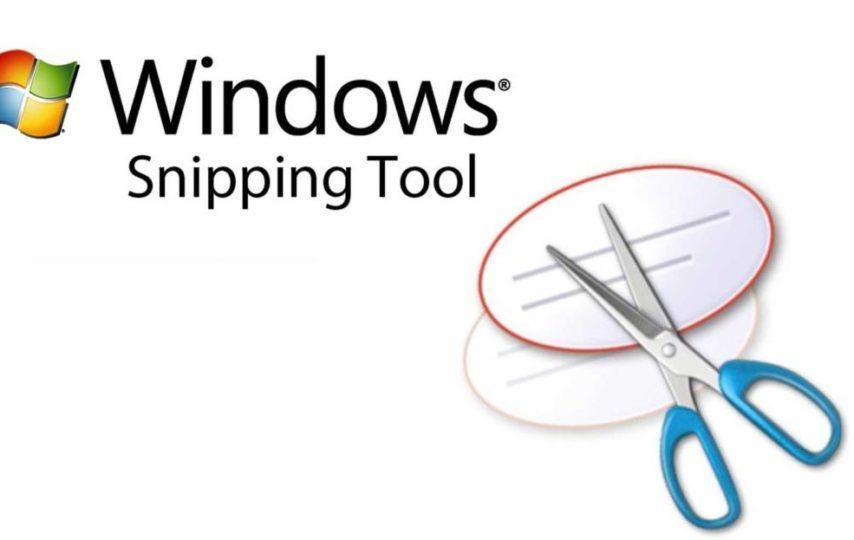 Cách download và sử dụng phần mềm snipping tool trên PC