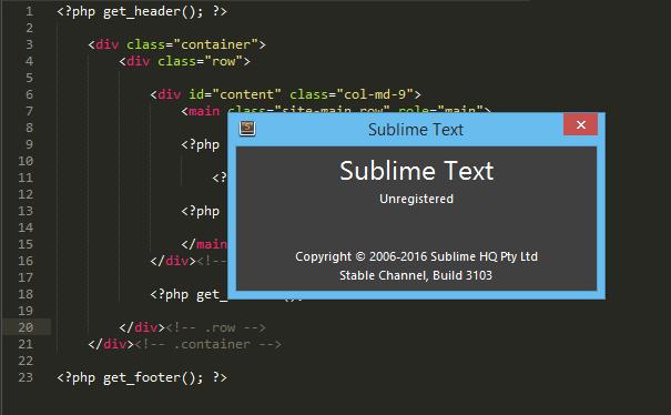 Hướng dẫn download cài đặt phần mềm sublime text 3