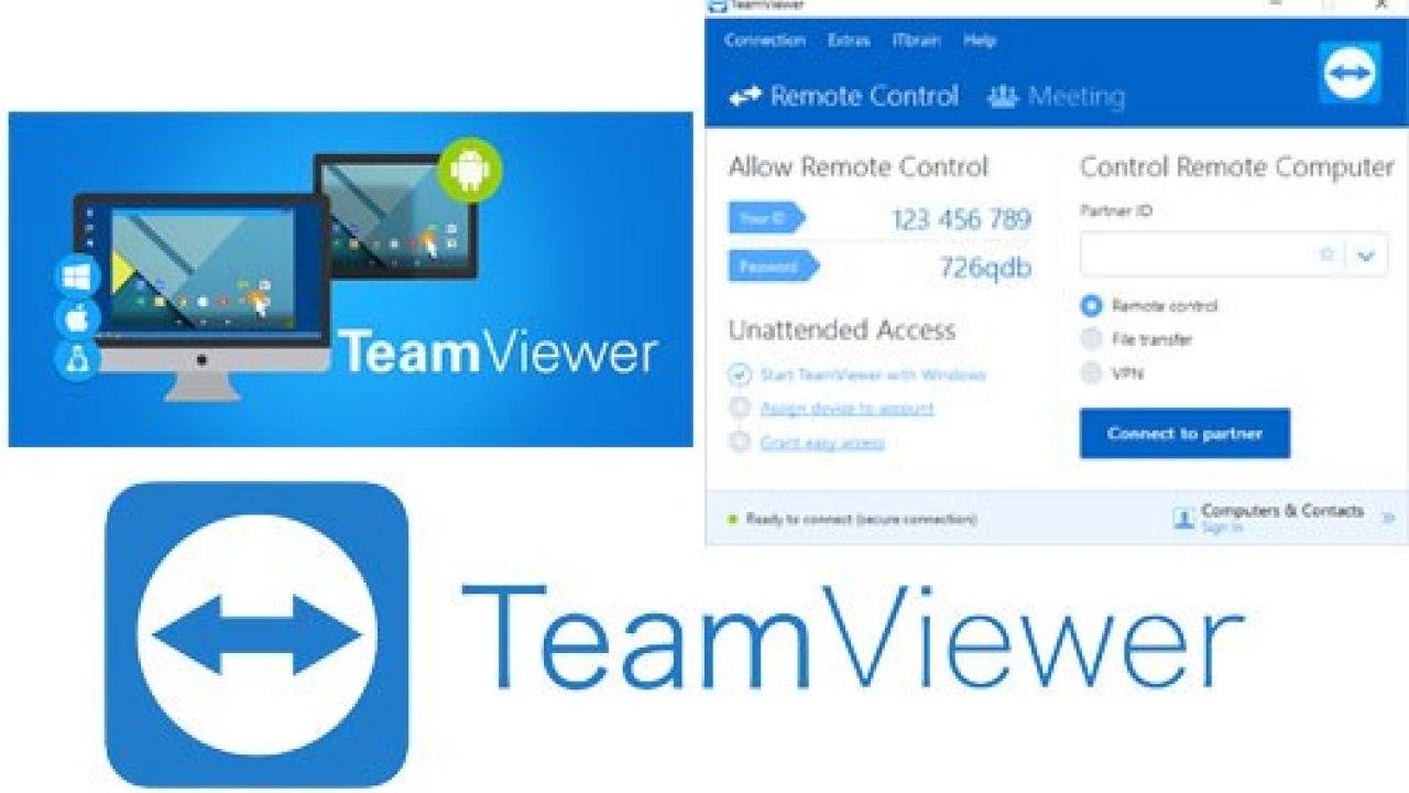 Cách download và tìm hiểu những điểm mới trong teamviewer 12