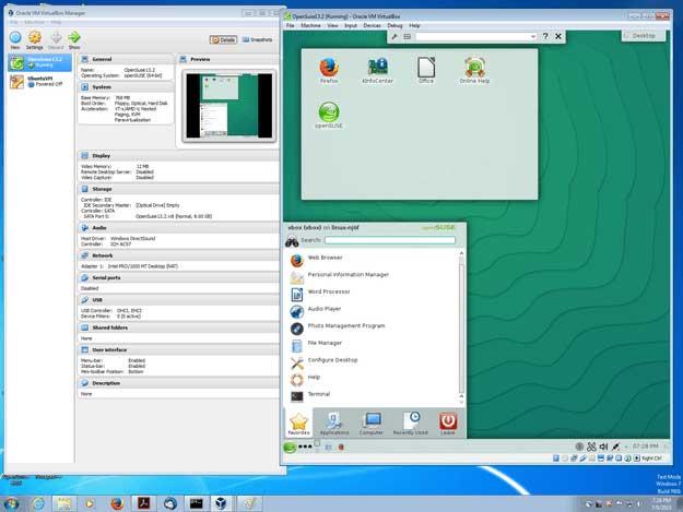 Với VirtualBox bạn có thể cài nhiều hệ điều hành trên một máy tính