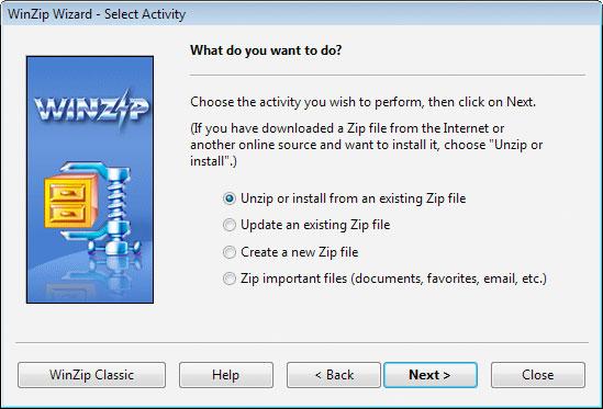WinZIp phiên bản mới có những cải tiến vượt trội