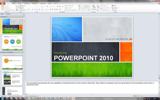 Powerpoint 2010 tạo các hiệu ứng trình chiếu đẹp mắt, thu hút