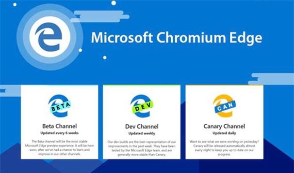 Download và cài đặt trình duyệt edge chromium để sử dụng nhanh chóng hơn nhé